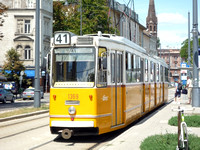 Budapest Trams July 2012