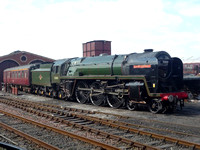 70013 Oliver Cromwell at Boness