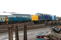 27001 and 37261 at Bo'ness