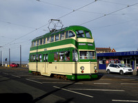 Blackpool Trams February 2018