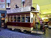 Glasgow Horse Tram 543 at Riverside Museum