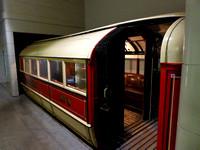 Subway car 4 at Riverside Museum