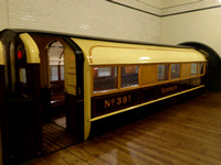 Subway Trailer 39 at Riverside Museum