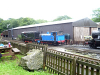 AD701 and 1245 at Haverthwaite