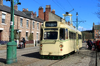 Ex Towing Railcoach 280 at Beamish