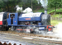Lakeside and Haverthwaite Railway July 2012