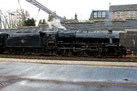 Black 5 45305 at Carstairs