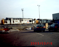 37430 and 37424 at Motherwell