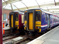 156478 and 156431 at Kilmarnock 12.6.09