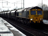 66546 at Coatbridge Central