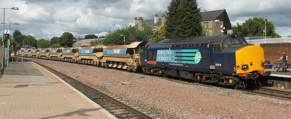 37610 tnt 66111 and 66432 at Larbert