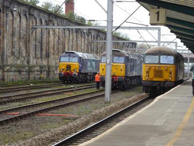 57304, 47813 and 56303 at Carlisle