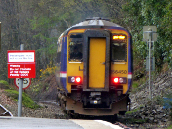 156458 at Arrochar and Tarbet