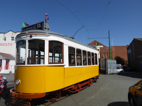 Lisbon 730 at Wirral Transport Museum
