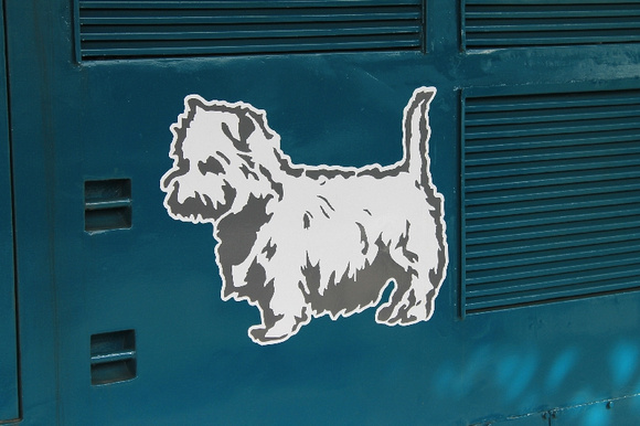 Eastfield Scottie Dog logo on 37401