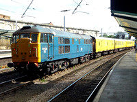 31106 and driving trailer 9703 at Carlisle