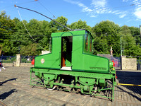 Blackpool Electric Loco at Crich
