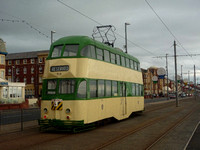 Blackpool trams September 2011