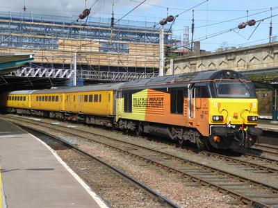 67023 tnt 67027 at Carlisle