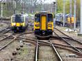 350407, 153307, 37601 and 47813 at Carlisle
