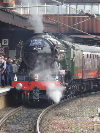 60103 'Flying Scotsman' at York