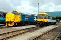37401 and 47712 at Carlisle Kingmoor