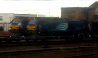 68019+68007 at Motherwell TMD