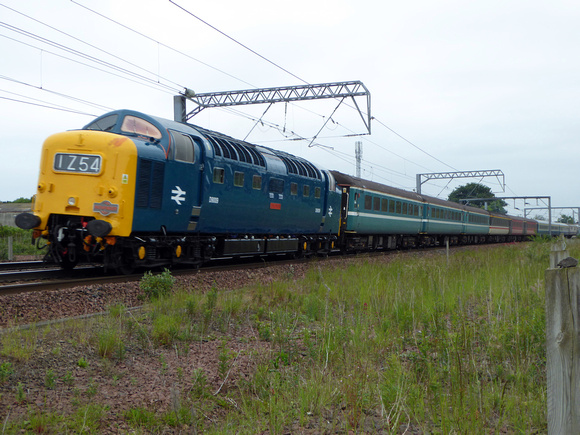 D9009 at Prestonpans
