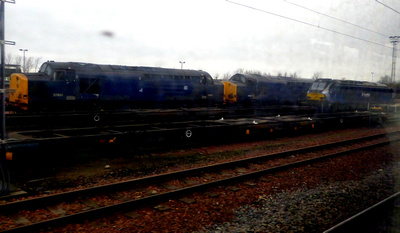 37601, 37607 and 68007 at Motherwell TMD