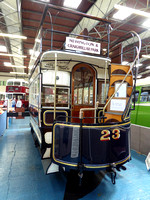 Edinburgh Horse Tram 23 at Lathalmond